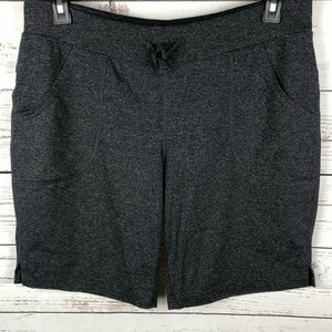 Lucy Charcoal Gray Workout Shorts
